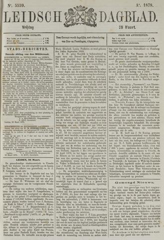 Leidsch Dagblad 1878-03-29