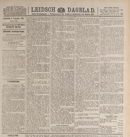 Leidsch Dagblad 1919-09-18