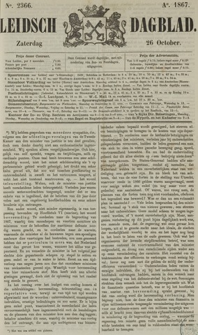 Leidsch Dagblad 1867-10-26