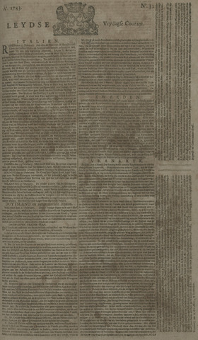 Leydse Courant 1743-03-15