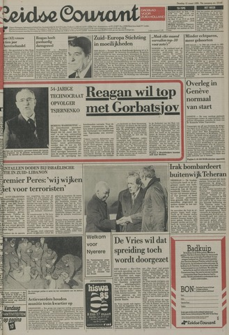 Leidse Courant 1985-03-12