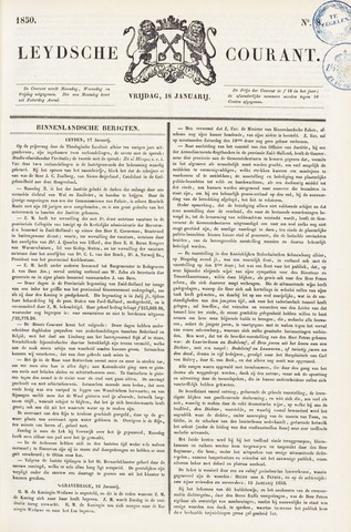 Leydse Courant 1850-01-18
