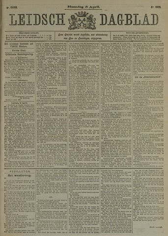 Leidsch Dagblad 1909-04-05