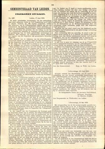 Handelingen van de Raad 1919-06-17