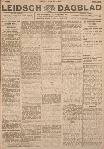 Leidsch Dagblad 1926-10-27