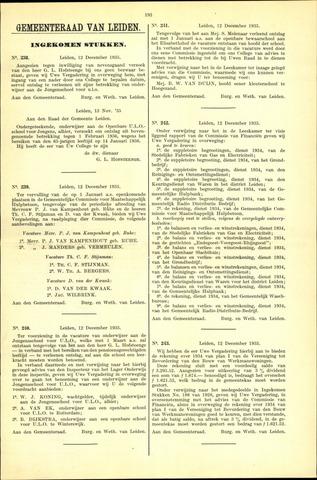 Handelingen van de Raad 1935-12-12