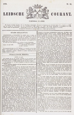 Leydse Courant 1876-04-12