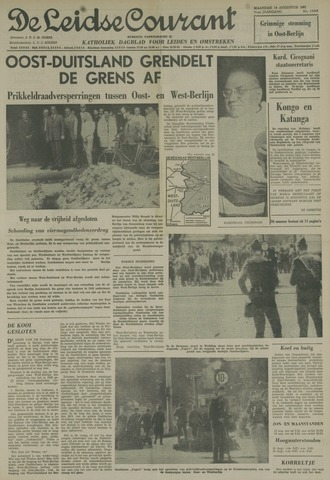 Leidse Courant 1961-08-14