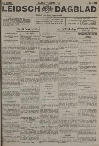 Leidsch Dagblad 1937-08-09