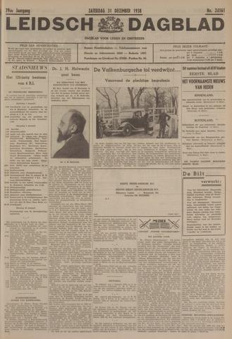 Leidsch Dagblad 1938-12-31