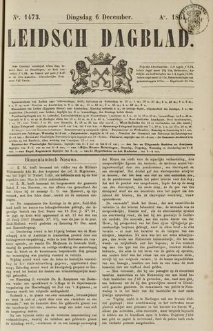 Leidsch Dagblad 1864-12-06