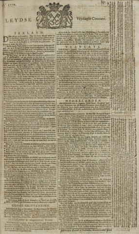 Leydse Courant 1770-01-19