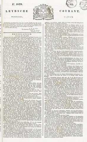 Leydse Courant 1839-07-10