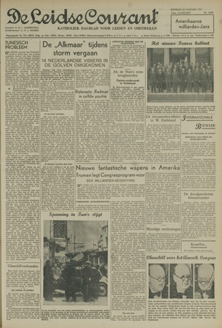 Leidse Courant 1952-01-22