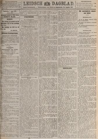 Leidsch Dagblad 1921-04-07