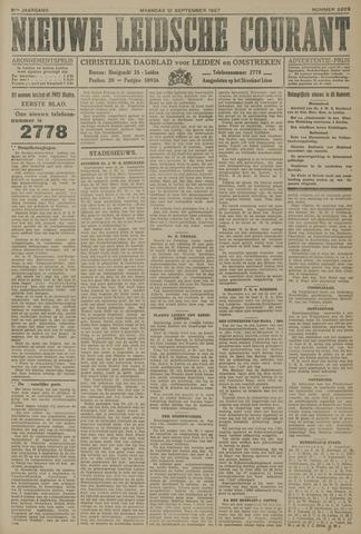 Nieuwe Leidsche Courant 1927-09-12