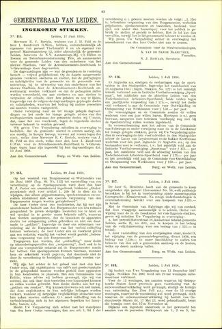 Handelingen van de Raad 1938-06-17