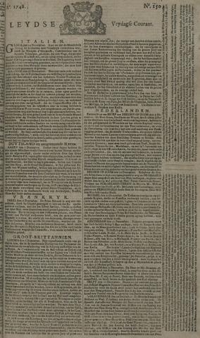 Leydse Courant 1748-12-13