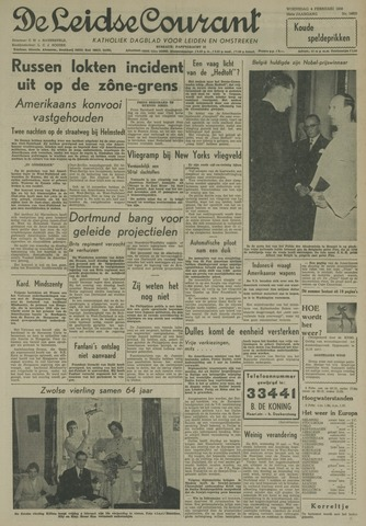 Leidse Courant 1959-02-04