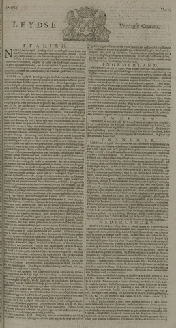 Leydse Courant 1725-05-04