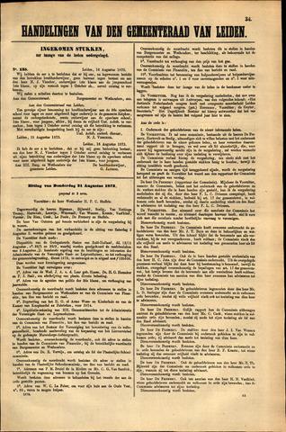 Handelingen van de Raad 1873-08-16