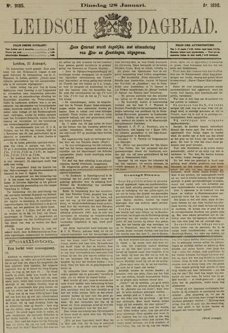 Leidsch Dagblad 1890-01-28