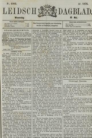 Leidsch Dagblad 1876-05-10