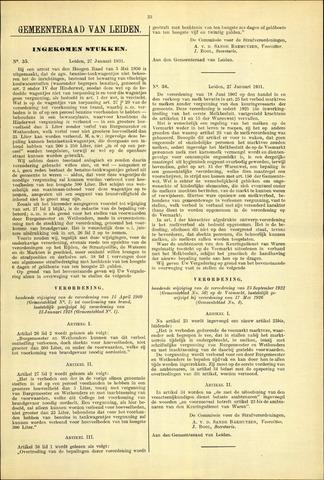Handelingen van de Raad 1931-01-27