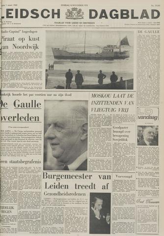Leidsch Dagblad 1970-11-10