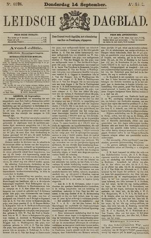 Leidsch Dagblad 1882-09-14