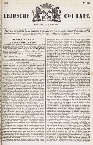 Leydse Courant 1876-09-12