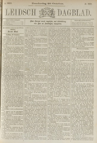 Leidsch Dagblad 1892-10-20