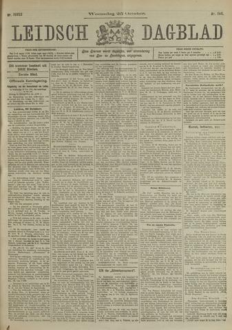 Leidsch Dagblad 1911-10-25