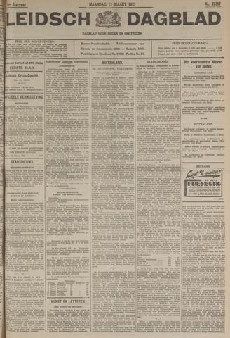 Leidsch Dagblad 1933-03-13