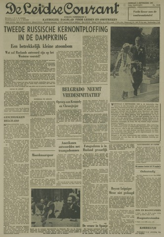 Leidse Courant 1961-09-05