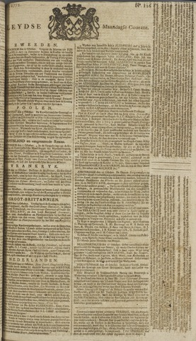 Leydse Courant 1772-10-19
