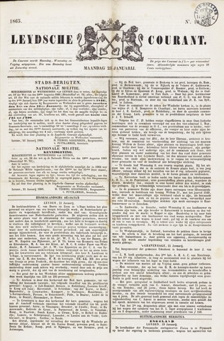 Leydse Courant 1865-01-23
