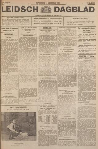 Leidsch Dagblad 1930-08-14