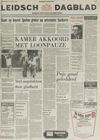 Leidsch Dagblad 1980-01-23
