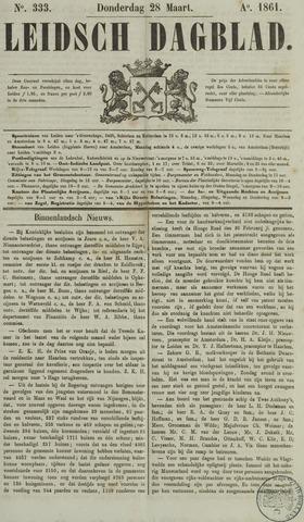 Leidsch Dagblad 1861-03-28