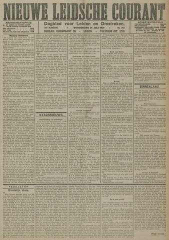 Nieuwe Leidsche Courant 1921-07-14