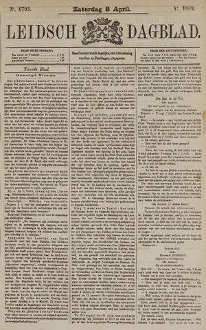 Leidsch Dagblad 1882-04-08