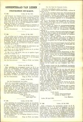 Handelingen van de Raad 1901-05-21