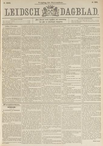 Leidsch Dagblad 1893-11-10