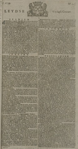 Leydse Courant 1739-09-25
