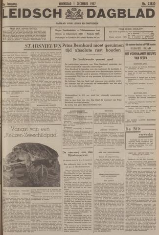 Leidsch Dagblad 1937-12-01