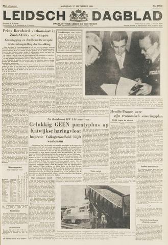 Leidsch Dagblad 1954-09-27