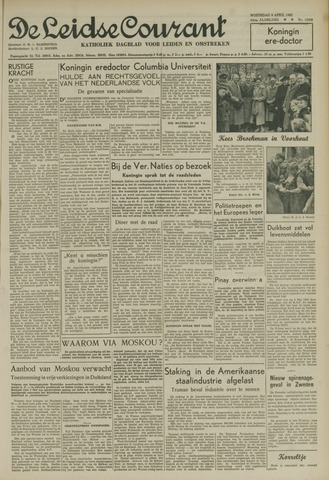 Leidse Courant 1952-04-09