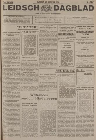 Leidsch Dagblad 1938-08-13