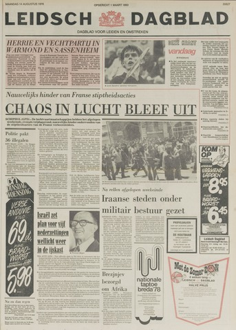 Leidsch Dagblad 1978-08-14